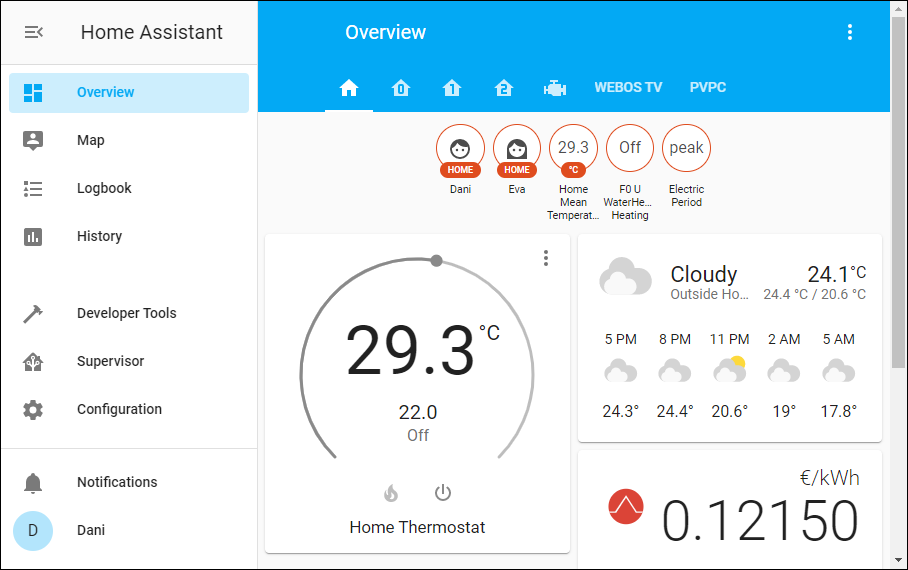 Home Assistant Lovelace